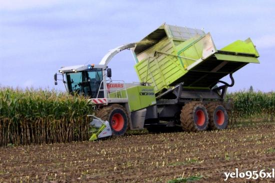Claas Jaguar 900 Field Shuttle